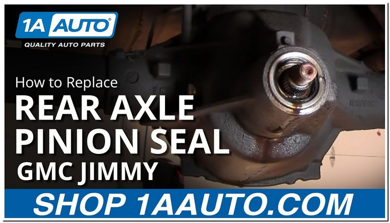 Chevy Trailblazer Front Pinion Seal Replacement