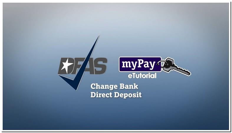 Dfas Cleveland Direct Deposit Change