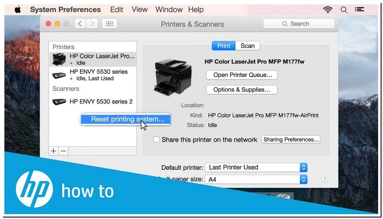 Epson Printer Says Offline On My Mac