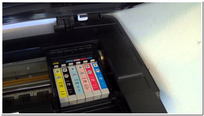 Epson Stylus Nx400 Change Ink Cartridge