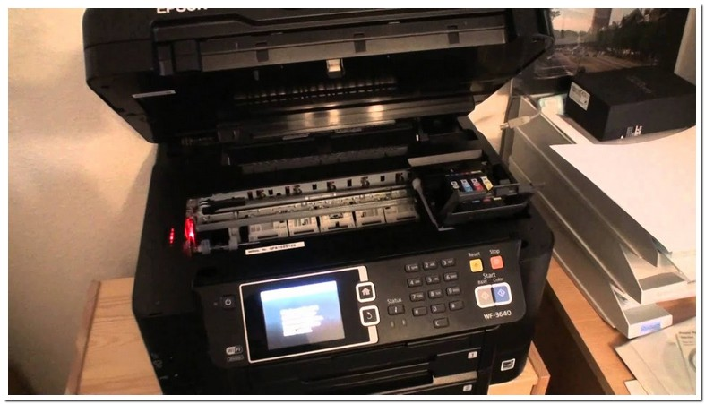 Epson Wf 3640 Ink Replacement