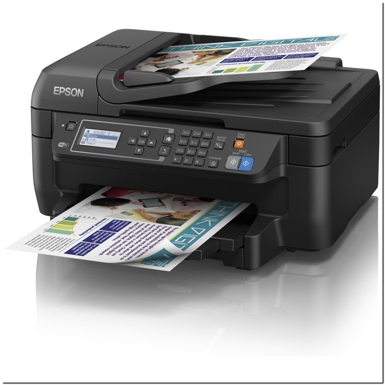 Epson Workforce Wf 2650 All In One Printer