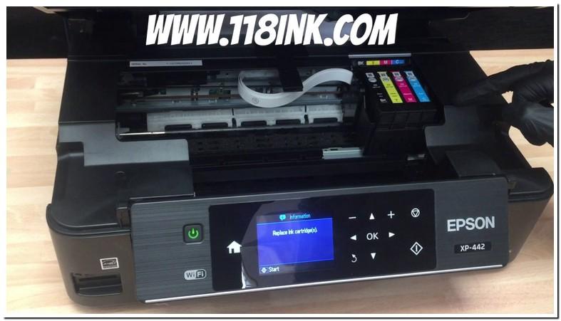 Epson Xp 420 Ink Cartridge Installation