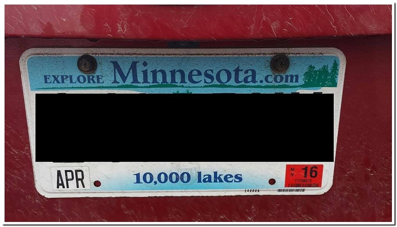 Fine Amount For Expired Tabs Mn