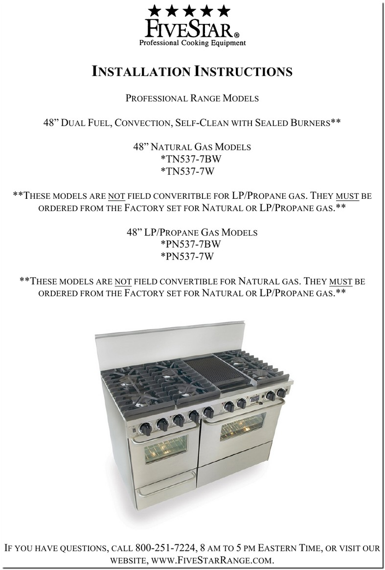 Five Star Stove Replacement Parts