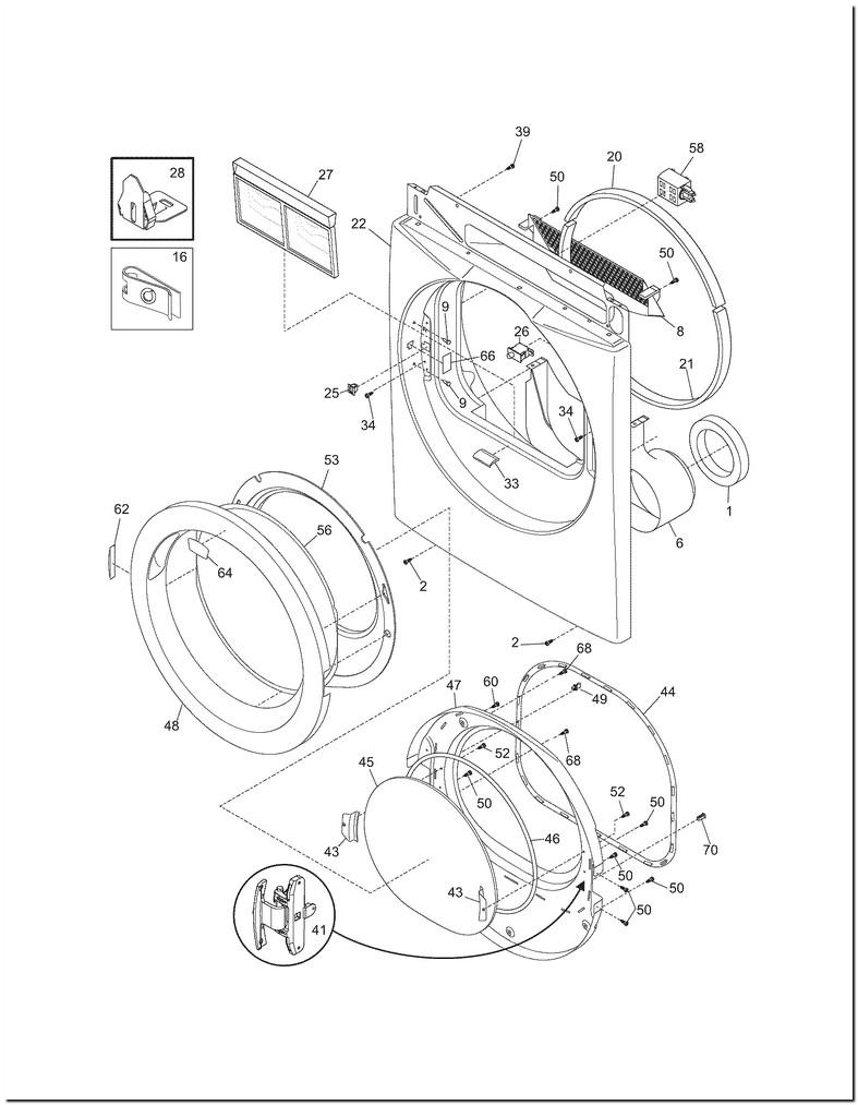 Frigidaire Affinity Gas Dryer Parts