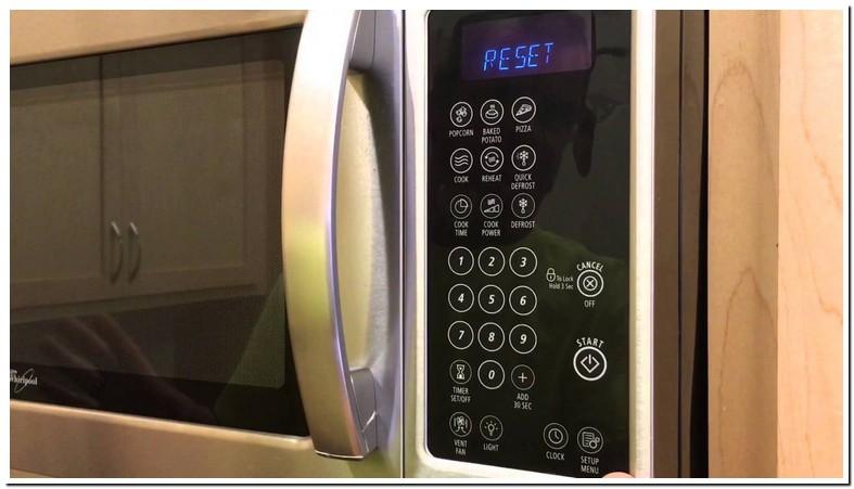 Frigidaire Microwave Filter Reset