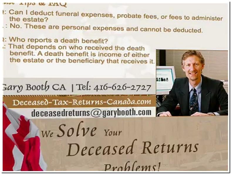 Funeral Expenses Tax Deductible Cra