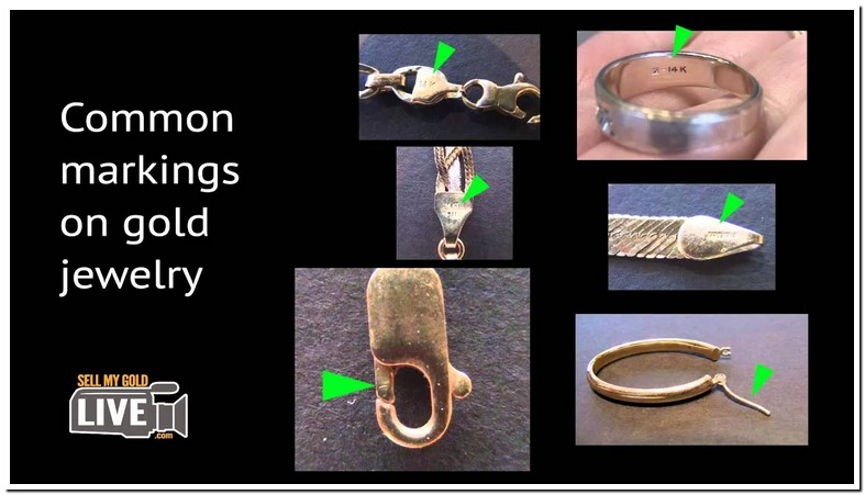 Gold Jewelry Markings Symbols