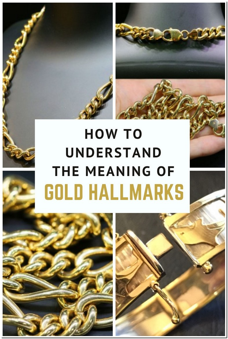 Gold Ring Markings Symbols