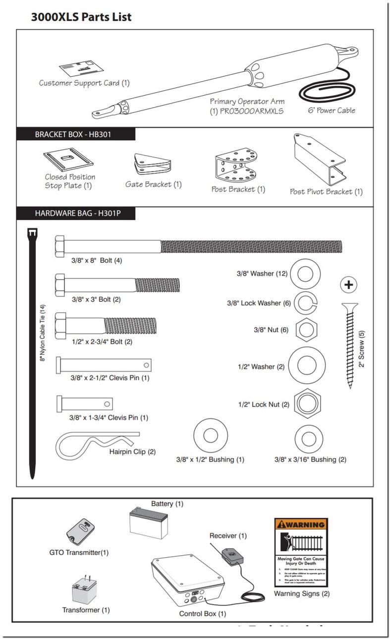 Gto Pro 3000 Gate Opener Manual