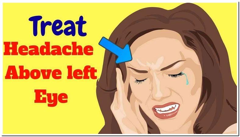 Headache Above Left Eyebrow
