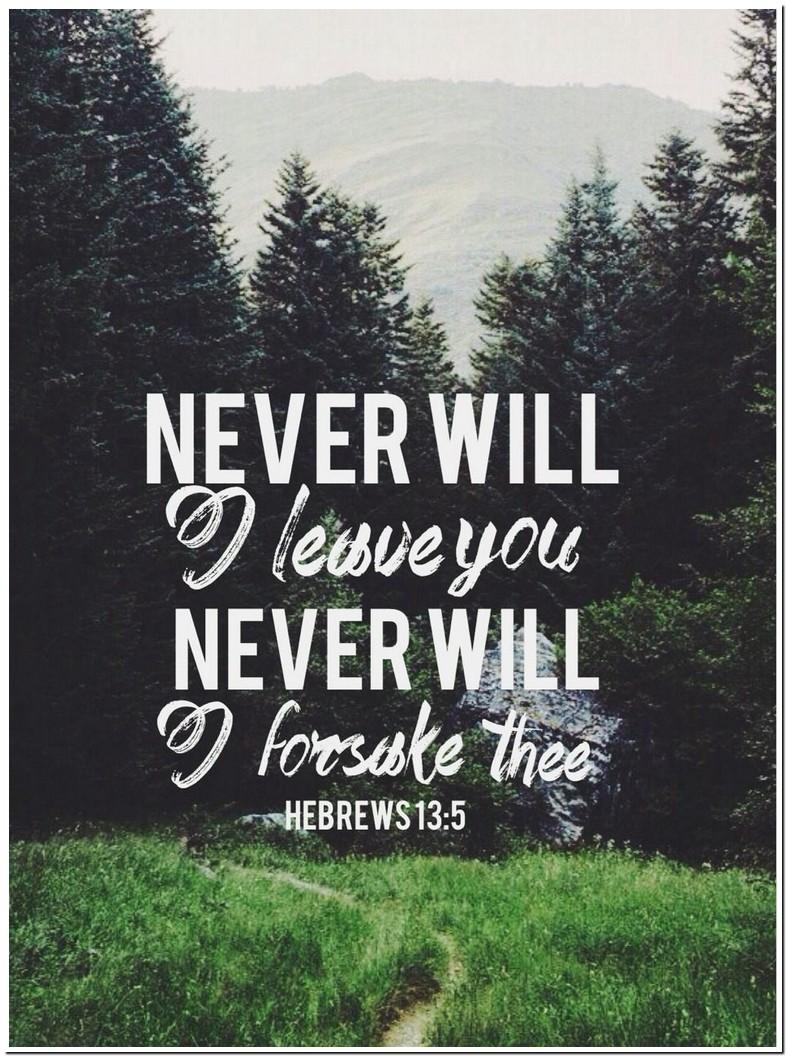 Hebrews 13 Verse 5 Meaning