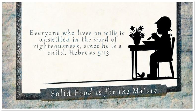 Hebrews 5 13 14 Meaning