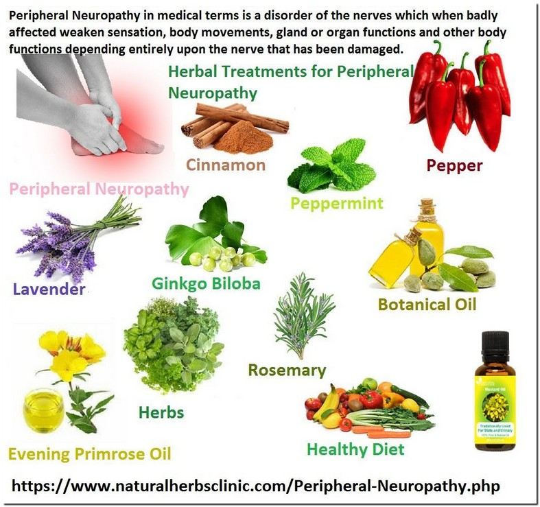 Herbal Treatment For Peripheral Neuropathy