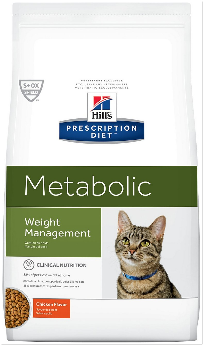 Hill Science Diet Metabolic Cat
