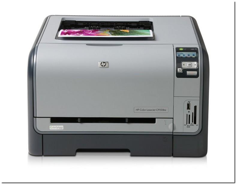 Hp Color Laserjet Cp1518ni Printer Driver Windows 7