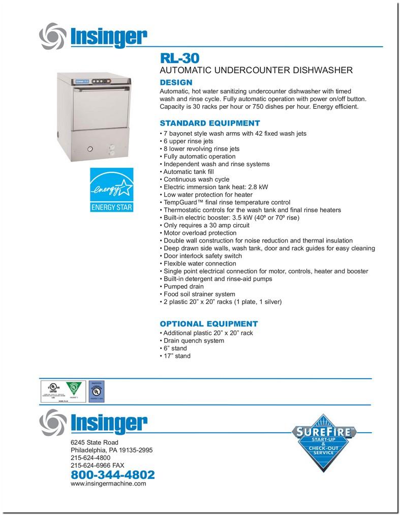 Insinger Rl 30 Manual