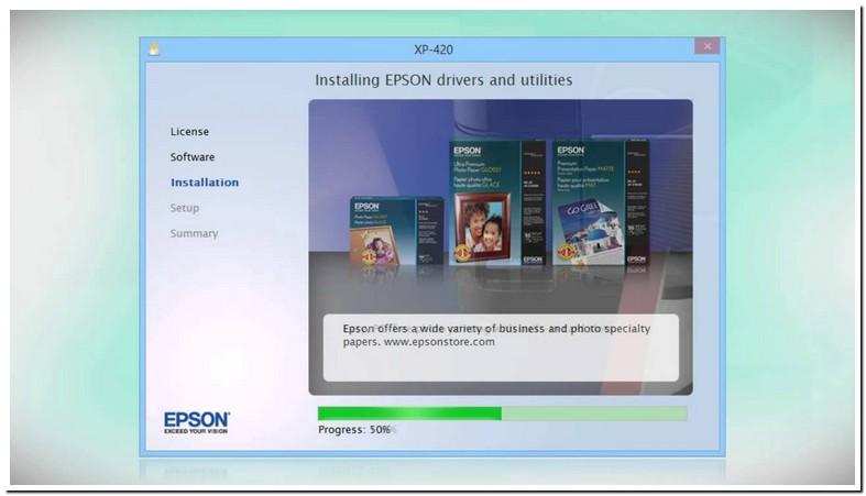 Install Printer Driver Epson Xp 420