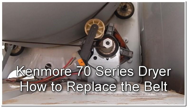 Kenmore Elite Dryer Belt Change