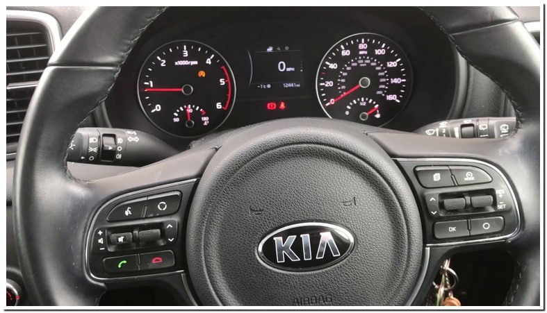 Kia Sportage Tpms Light