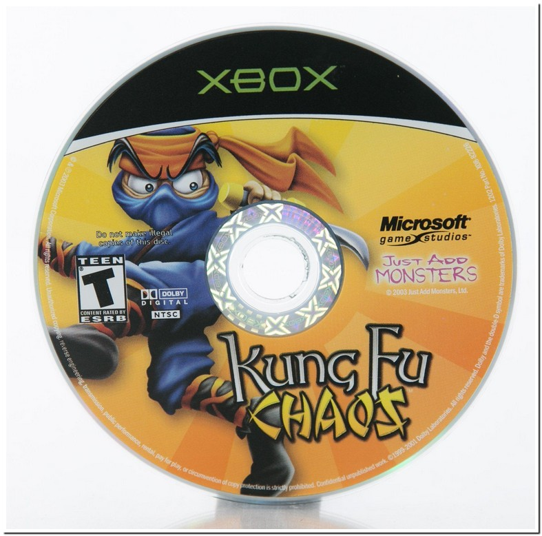 Kung Fu Chaos Compatible Xbox One