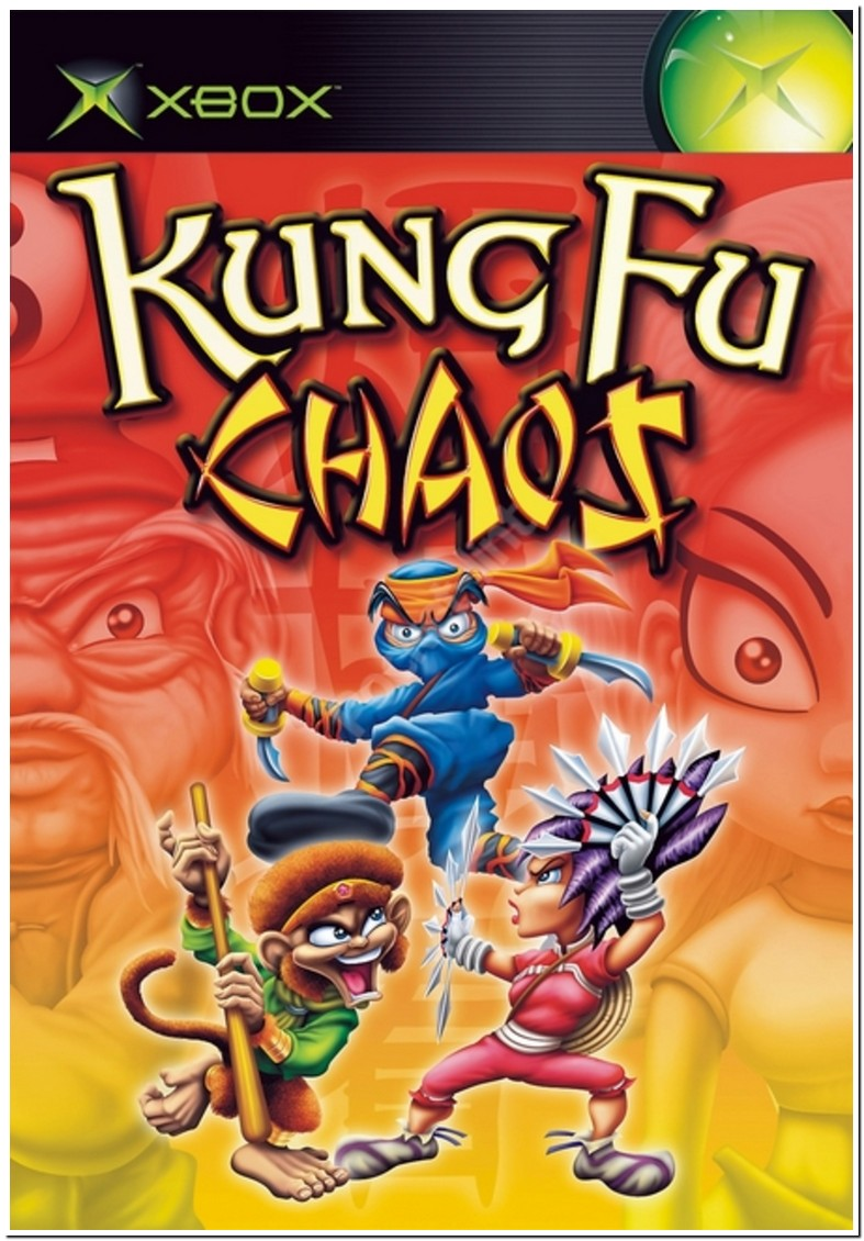 Kung Fu Chaos Xbox 1