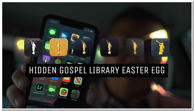 Lds Library App Easter Egg