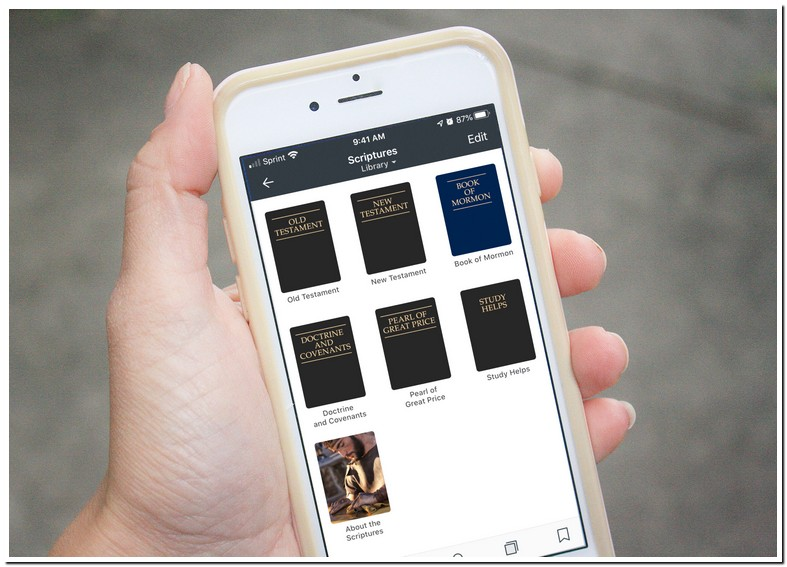 Lds Library App Help