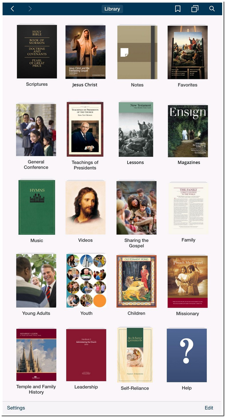 Lds Library App