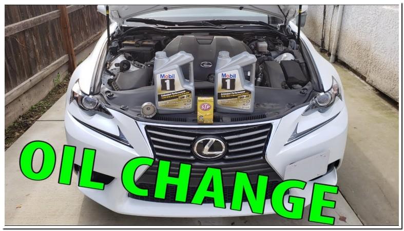 Lexus Is250 Oil Change