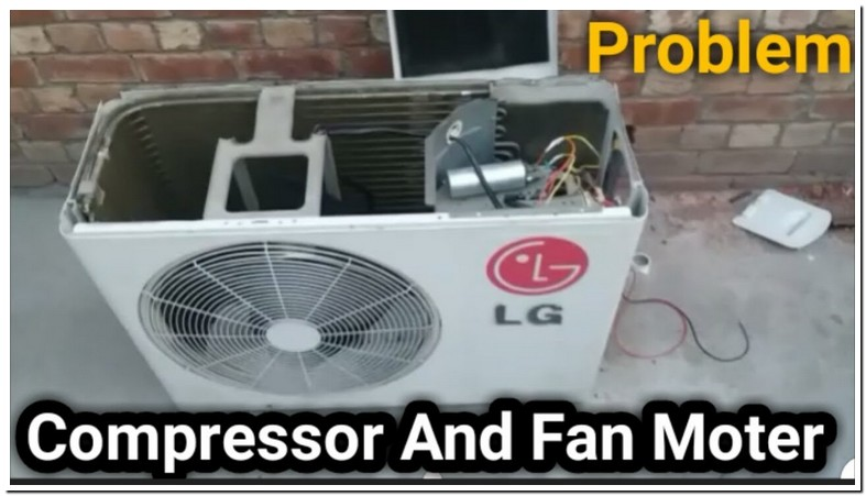 Lg Air Conditioner Outside Fan Not Working