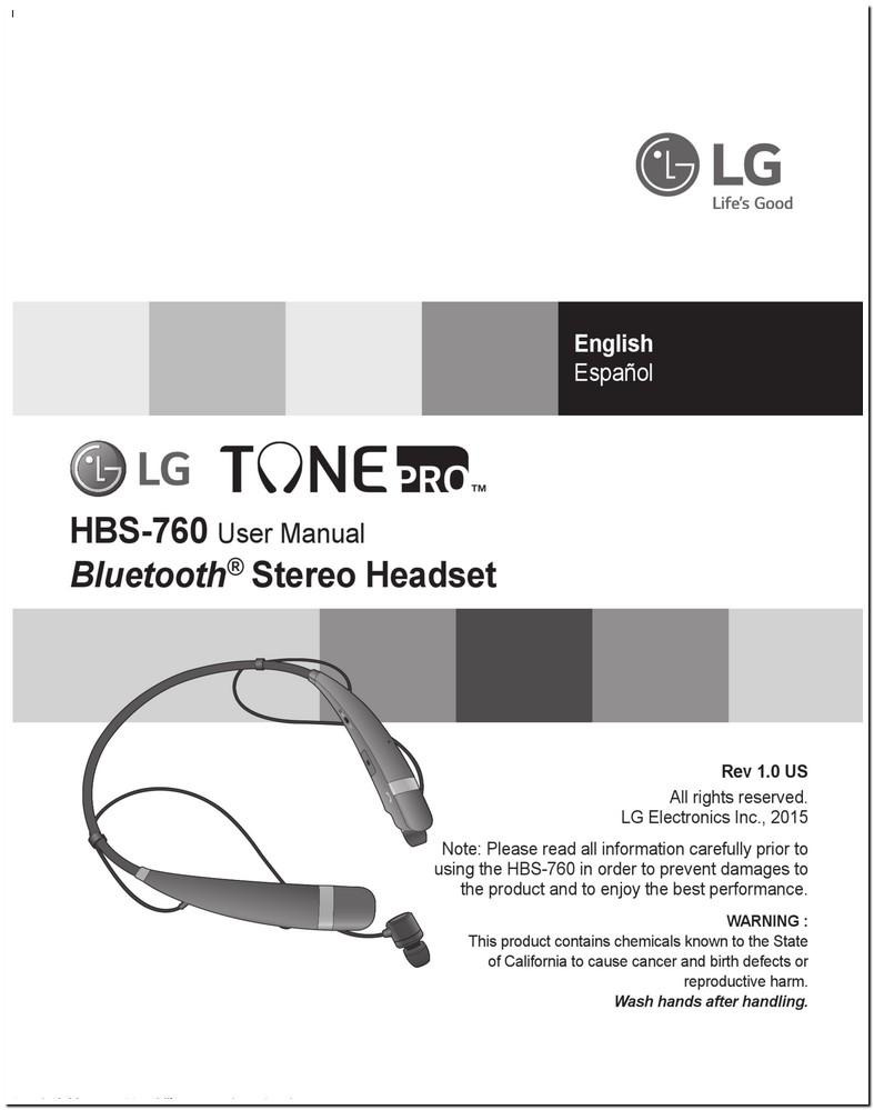 Lg Hbs 760 Manual