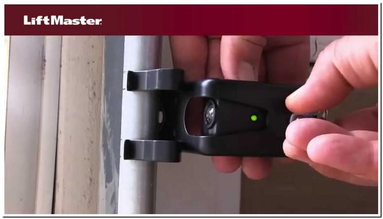 Liftmaster Garage Door Sensor Lights Not On