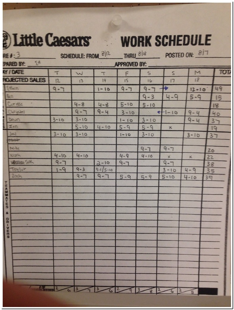 Little Caesars Pay Rate 2019