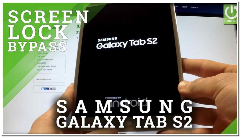 Locked Out Of Samsung Tablet S2