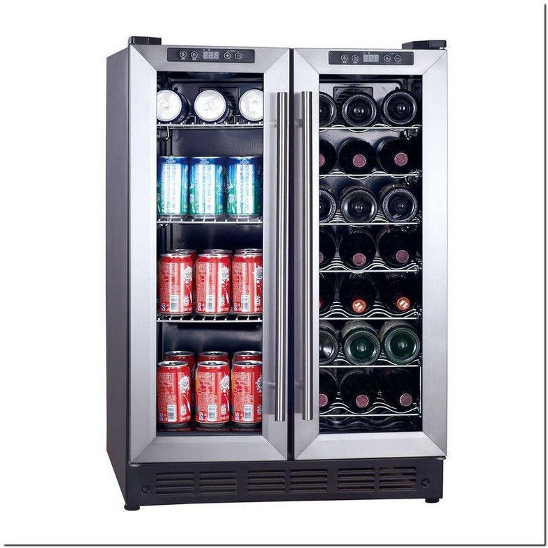 Magic Chef Dual Zone Built In Wine And Beverage Cooler 39 Degree
