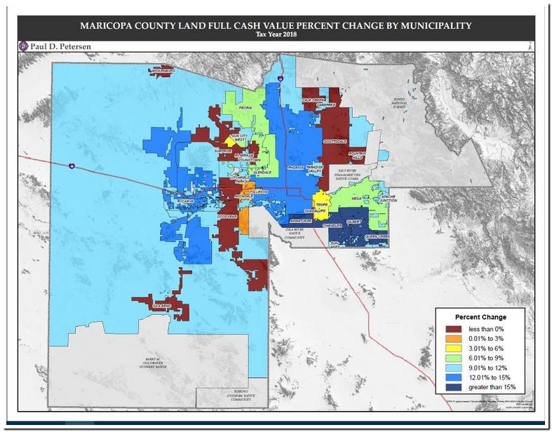 Maricopa County Tax Lien Map