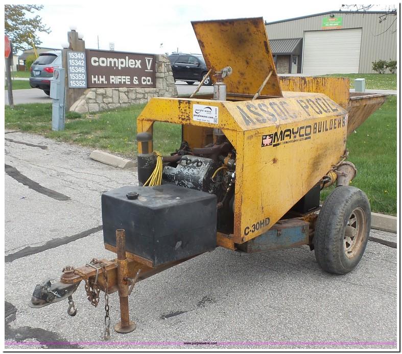 Mayco Concrete Pumps