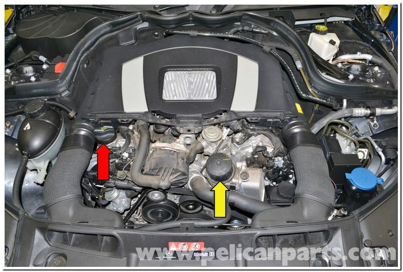 Mercedes C300 Oil Change Diy