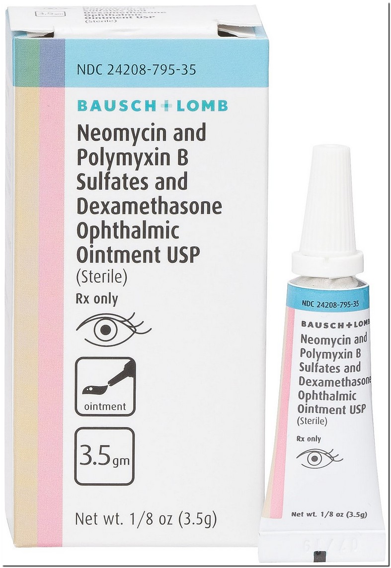 Neomycin Polymy Dexamethasone Eye Drops For Dogs