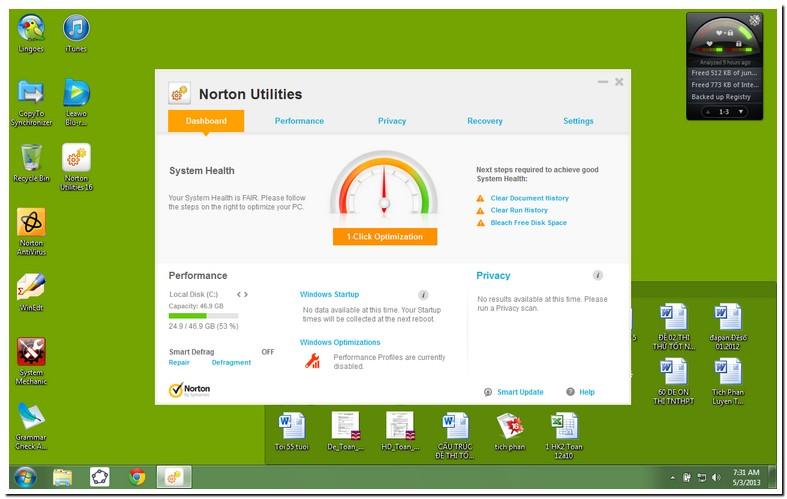 Norton Utilities 16 Windows 10