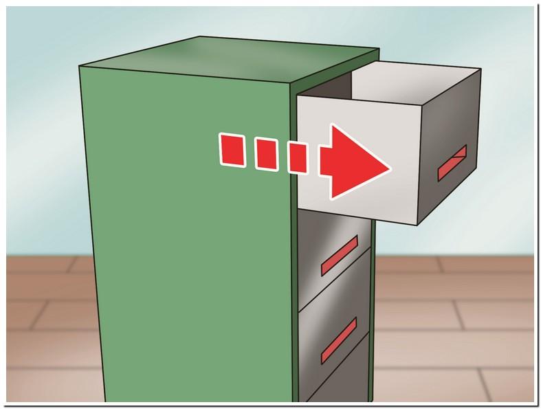 Open Locked File Cabinet