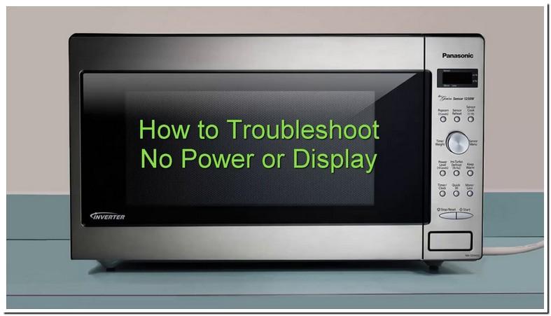Panasonic Microwave Problems No Power
