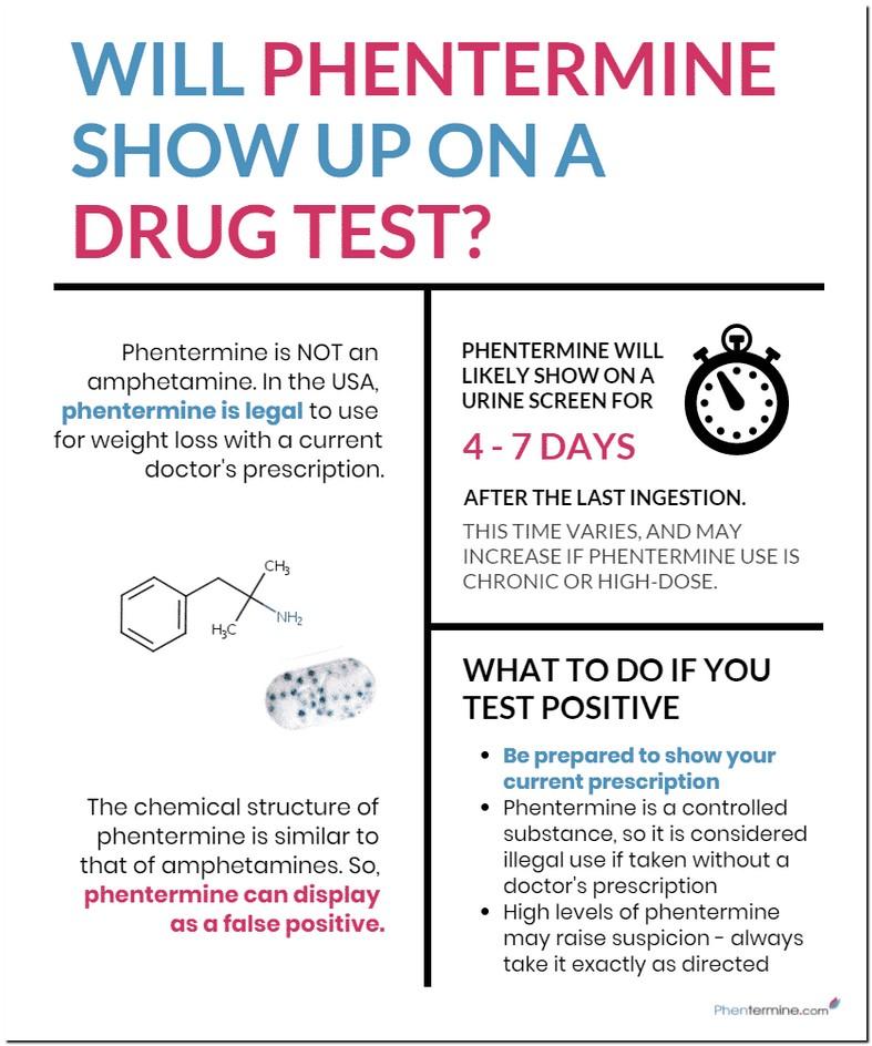 Phentermine Drug Test