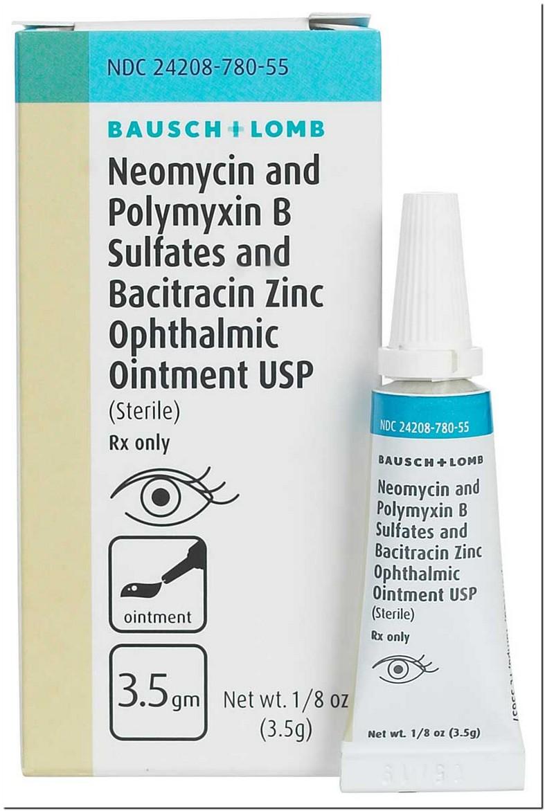 Polymyxin B Tmp Eye Drops For Pink Eye