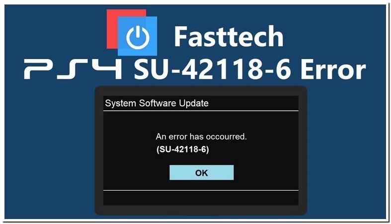Ps4 System Software Error Su 42118 6