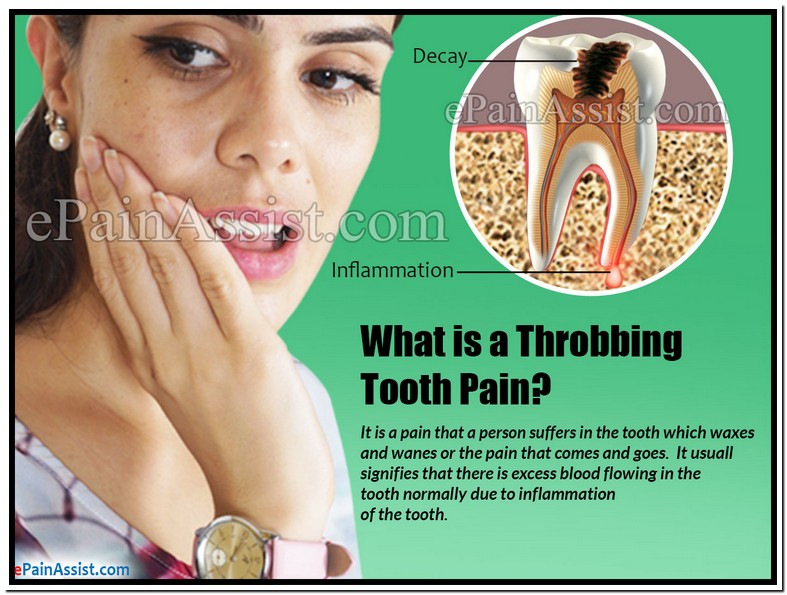 Pulsating Tooth Pain Relief
