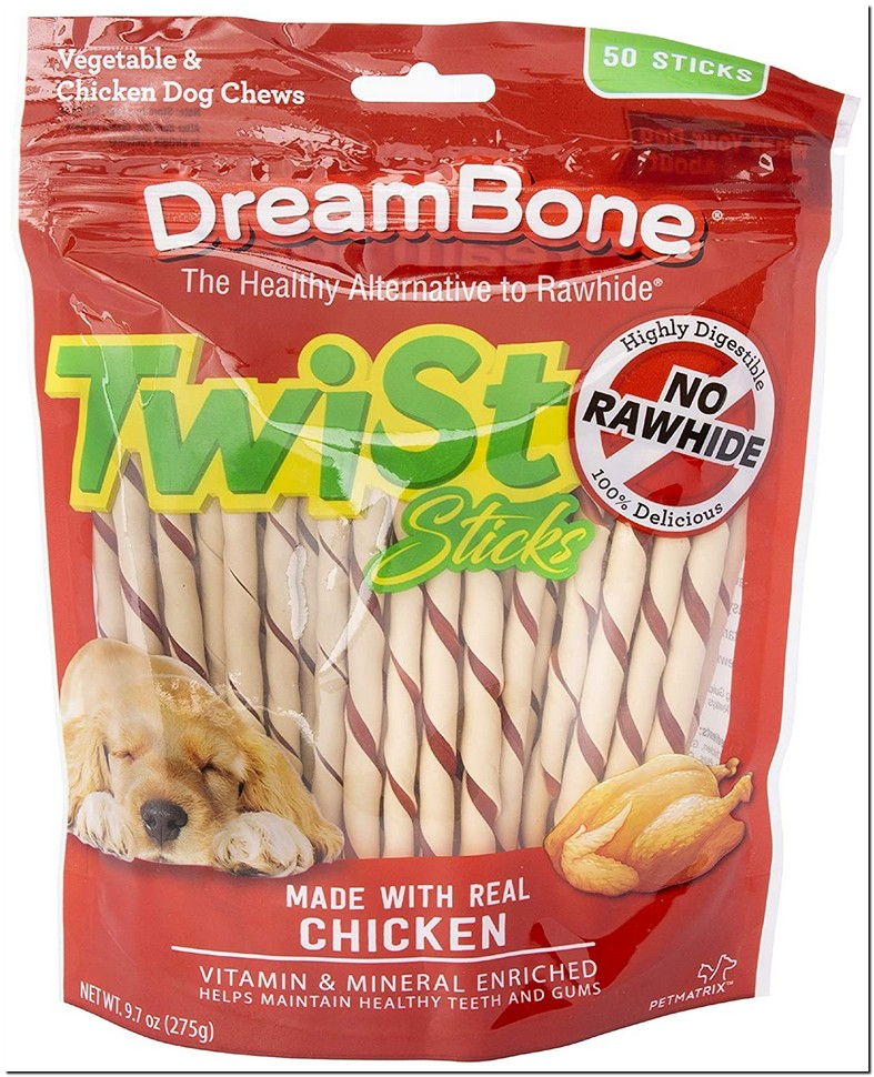 Puppy Rawhide Chew Sticks