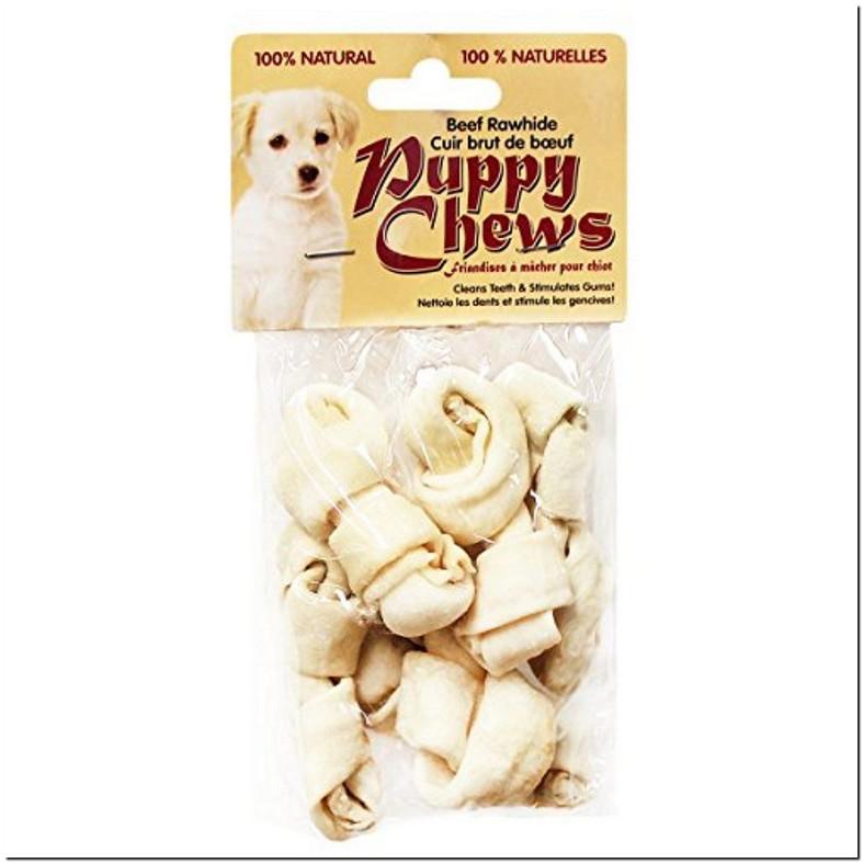 Rawhide Bone Puppy